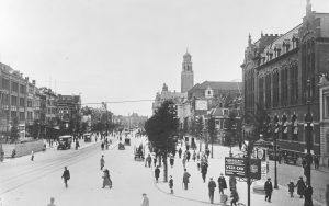 1923 coolsingel Rotterdam postkantoor Calandmonument stadhuis gelaagde stad Rotterdam architectuurmaand 2019