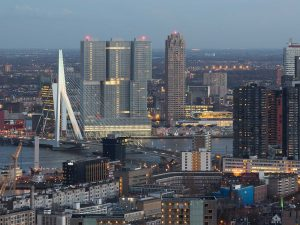 De Rotterdam erasmusbrug zuid stad De Rotterdam Tours Rotterdam Architectuurmaand 2019